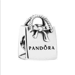 Pandora shopping bag charm